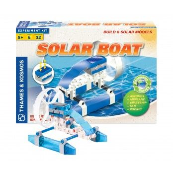 how to build a solar powered model boat