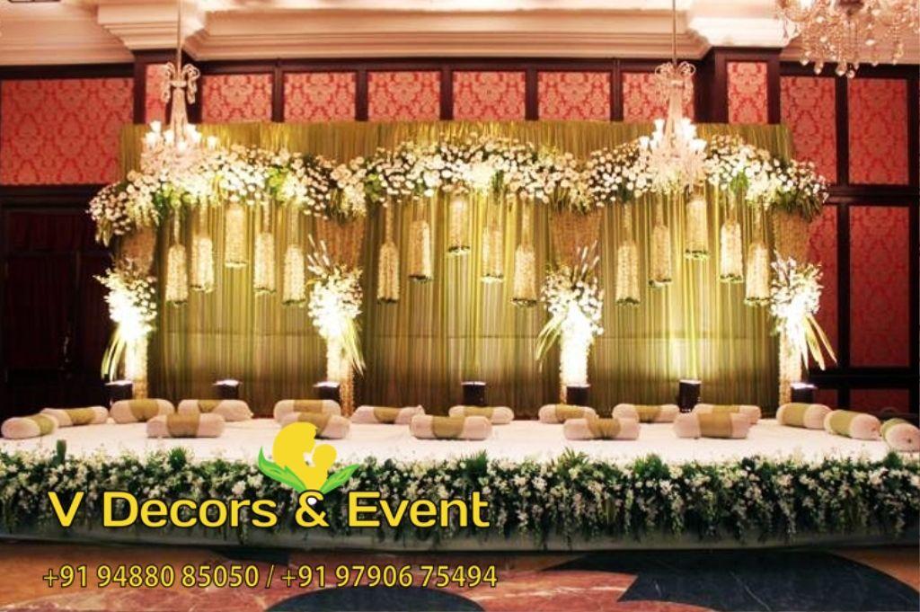 Wedding Reception Stage Decoration In Pondicherry Best Wedding