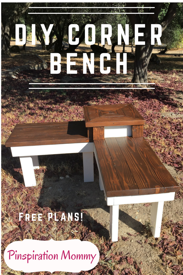 DIY Corner Bench with Builtin Table Outdoor table plans