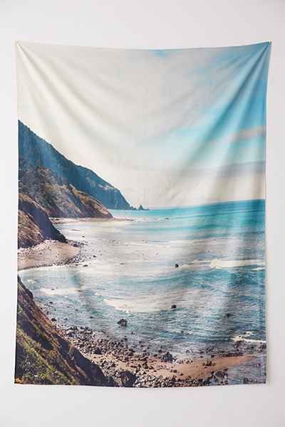 Catherine Mcdonald For Deny Pacific Coast Highway Tapestry Urban Outers Nursery Kid S Room Beach Decor
