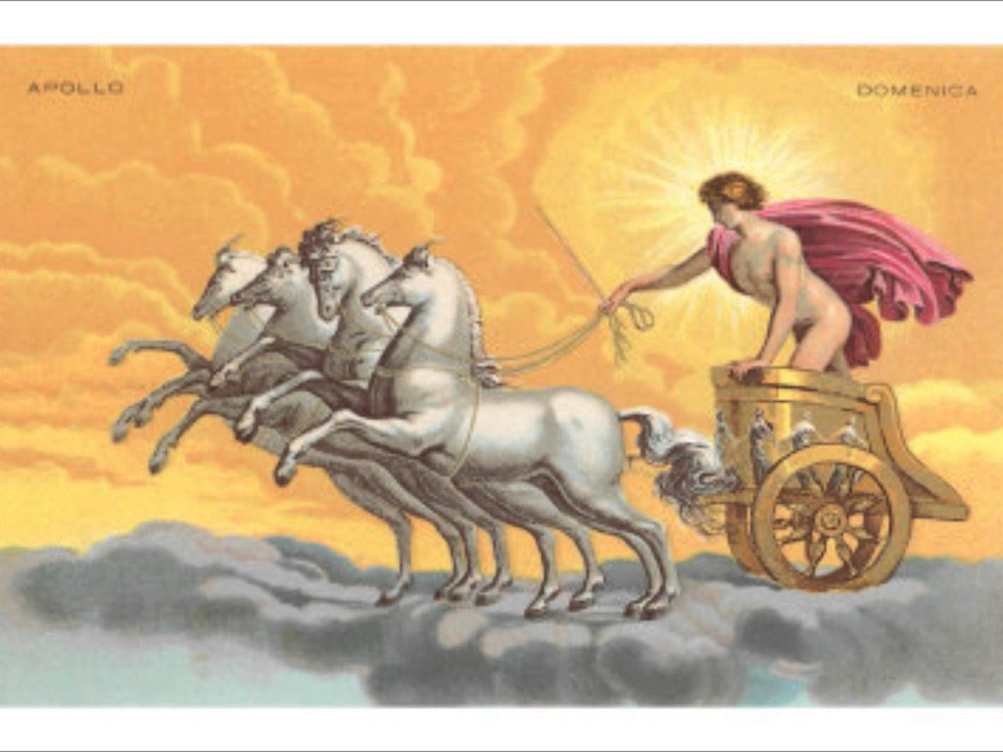 greek myths apollo with his chariot - photo #2