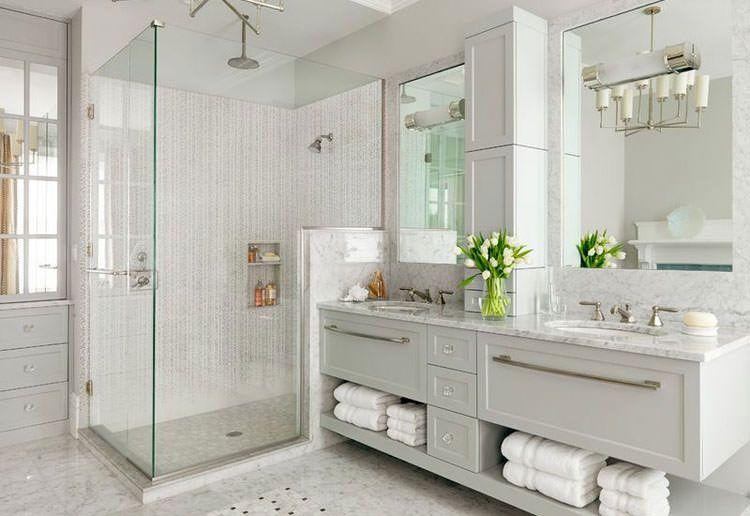 Bagno grigio ~ Idee per arredare bagni in grigio n.16 arredamento pinterest