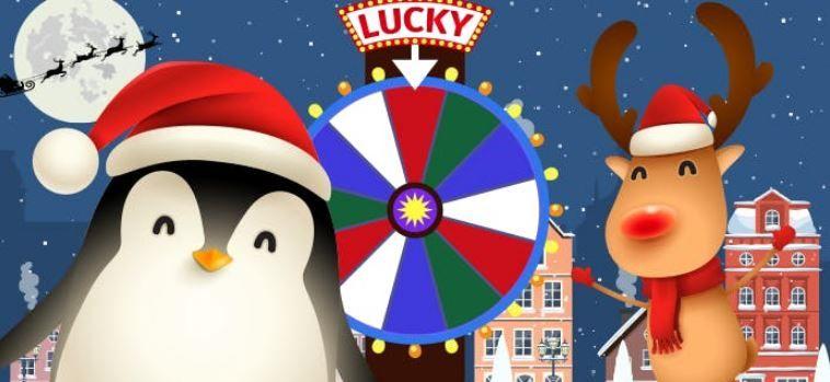Lucky Wheel: Christmas Edition! Videoquizstar | Christmas gadgets, A christmas story, Santa's ...