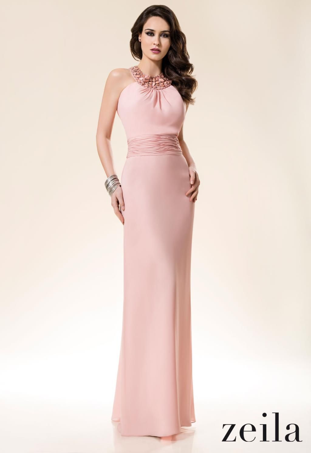 vestido color palo de rosa | Moda | Pinterest | Palo de rosa, Rosas ...
