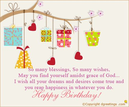 Birthday wishes for your friends and family birthday card birthday messages m4hsunfo Gallery