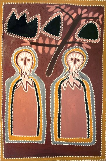 Queenie Nakarra McKenzie ~ Mook Mook Owls and Caves