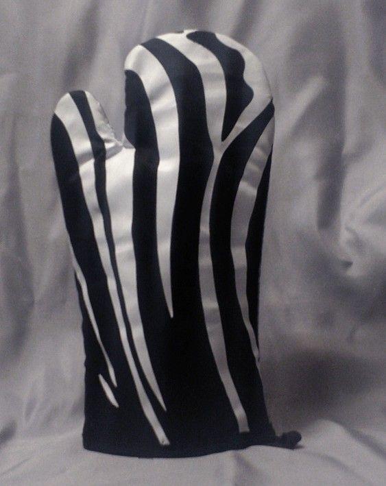 Chňapka rukavice zebra