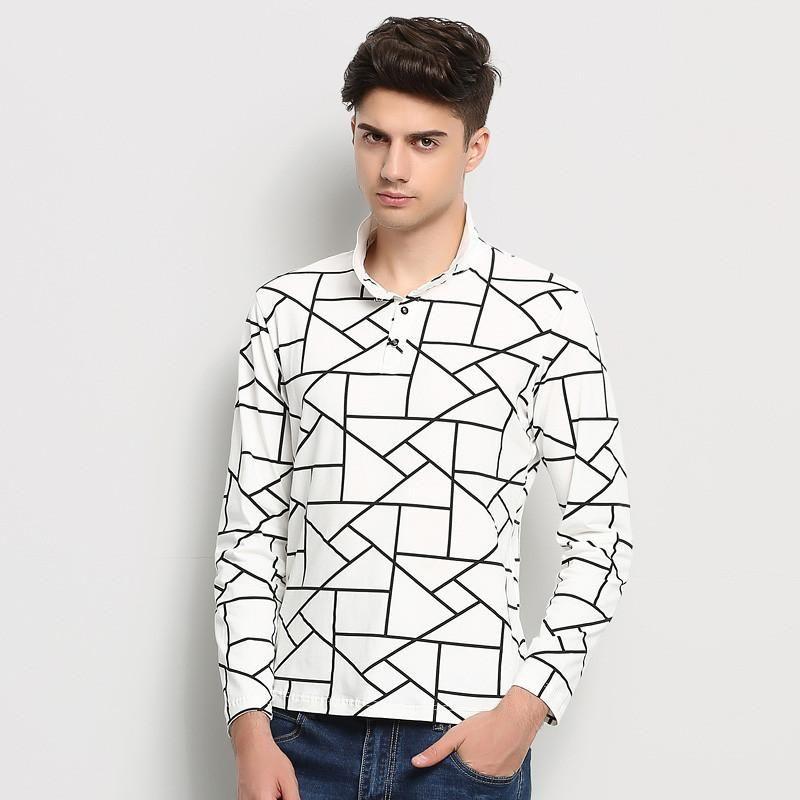 Men Fashion Clothes, Polo Shirt, Slim Fit Shirt, Plus Size M-5XL