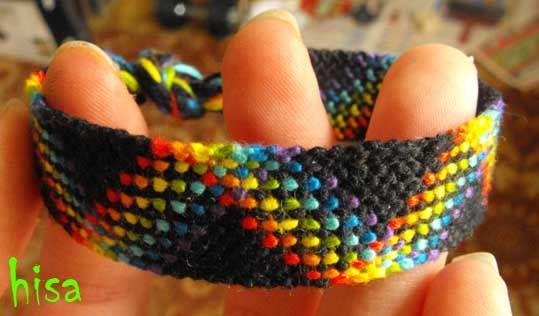 Photo of #4426 by Hisa - friendship-bracelets.net