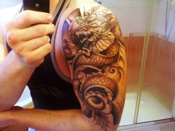 Japanese Dragon Tattoo Dragon Tattoo Arm Japanese Dragon Tattoo Dragon Tattoo Colour