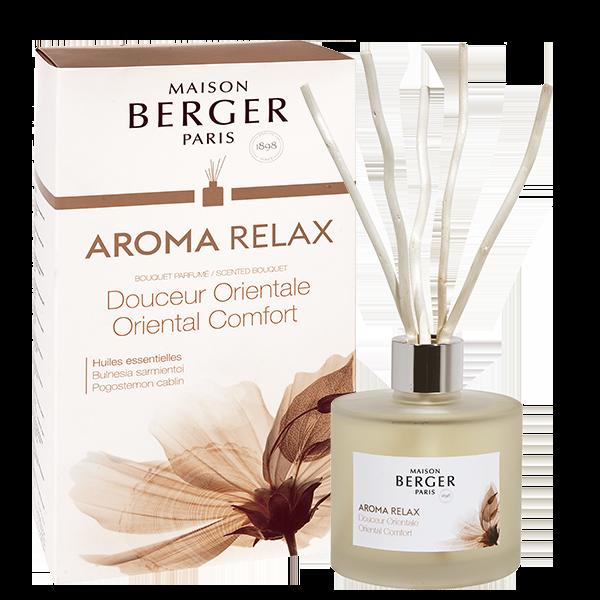 Maison Berger Aroma Relax Oriental Comfort Diffuser Reed Diffuser Oil Aroma Diffuser