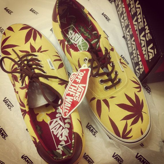 bby___js's save of Marijuana Weed Leaf Vans(Different Color styles possible) on Wanelo