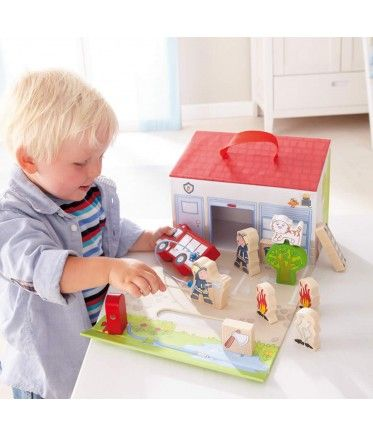 Cute firehouse set