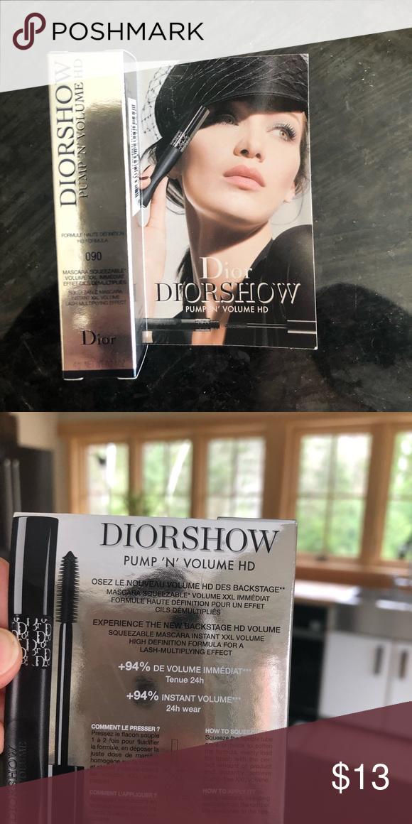 4432a84f DIOR mini mascara 4g DIOR Diorshow Pump'N'Volume Mascara Deluxe Mini ...