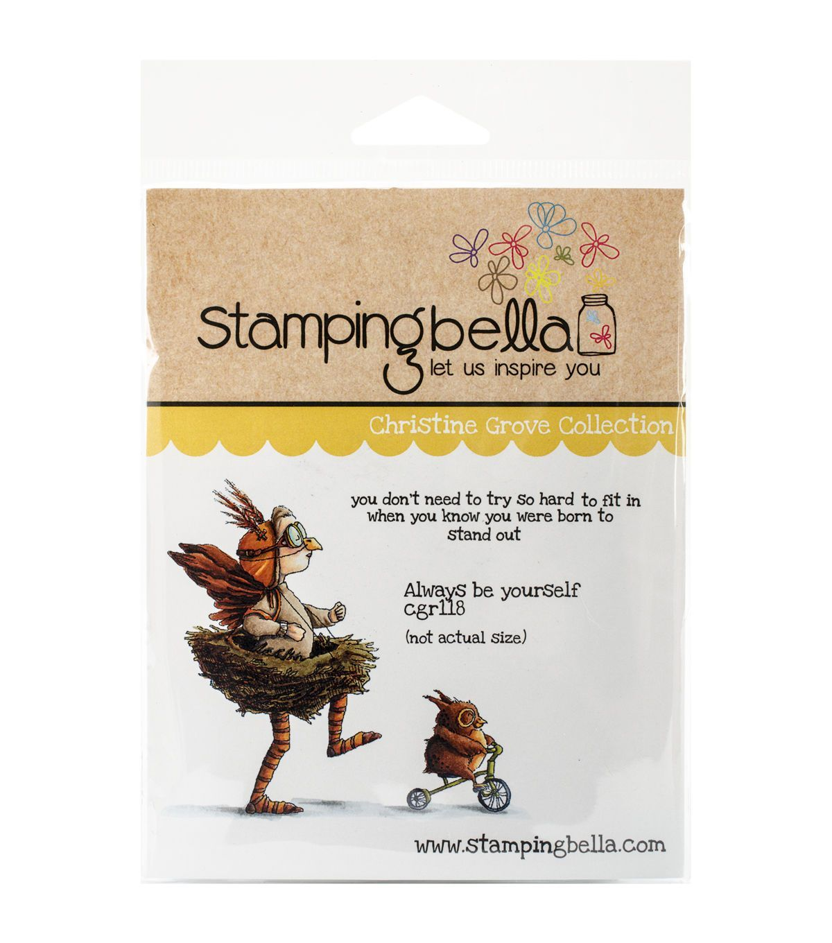 Stamping Bella Cling Stamps-always Be Yourself