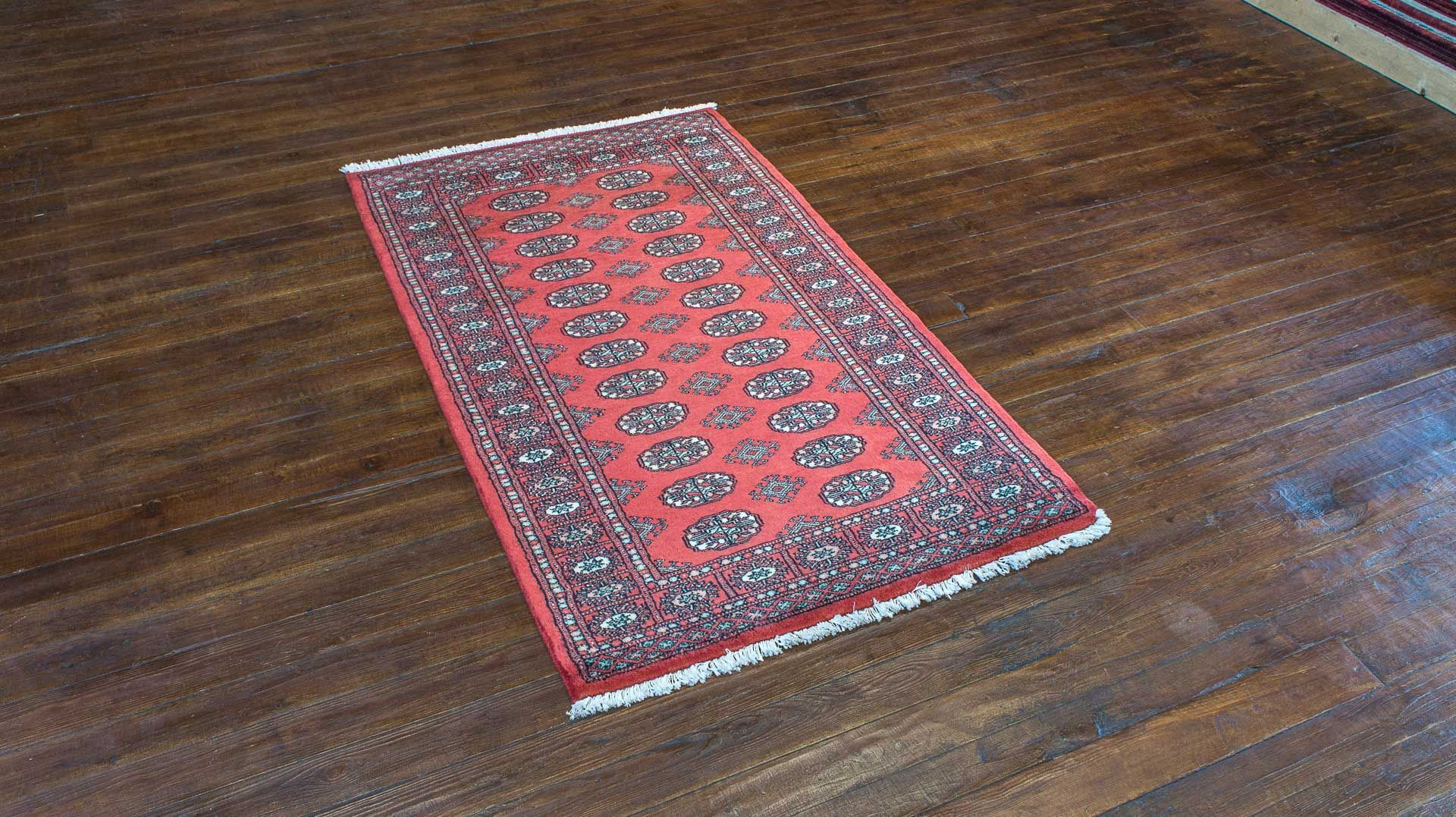 Hand Knotted Bokhara Rug From Pakistan Length 160 0cm By Width