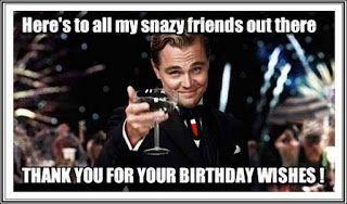 Funny Birthday Thank You Meme Quotes Happy Birthday Wishes