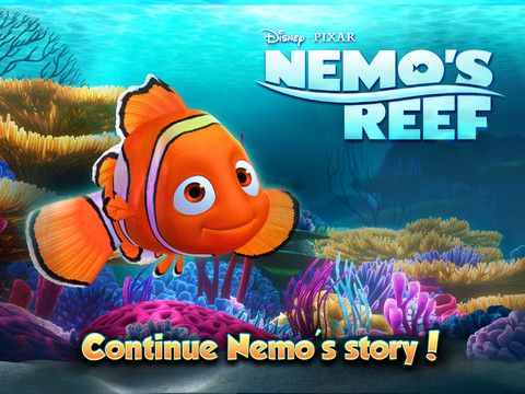 Our GFAOTD is featured in Apple's 'New and Noteworthy' and is the only FREE Nemo Disney app on the iTunes store.