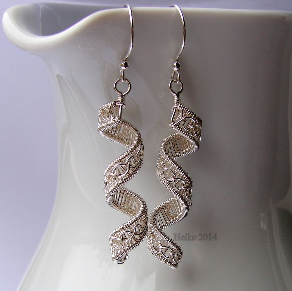 Find This Pin And More On Wire Earrings