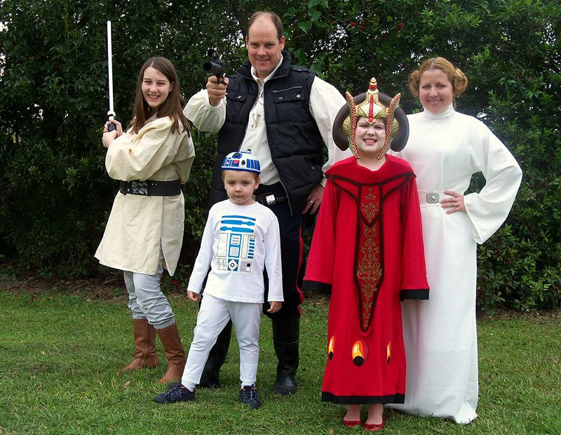 Star Wars Costume ideas Pinterest War, Stars and Star Wars - halloween costume ideas for family