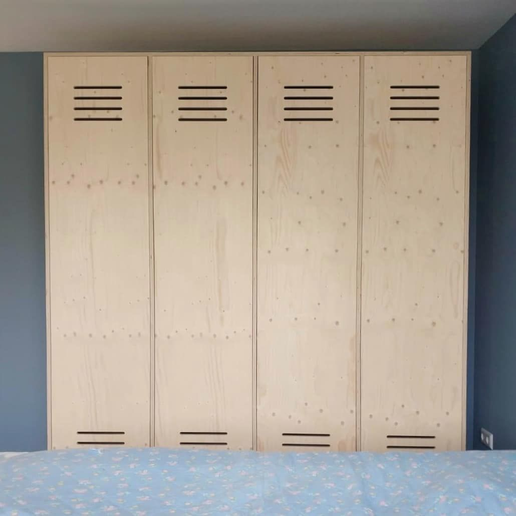 Heel Veel Opbergruimte Voor De Slaapkamer Of Kinderkamer