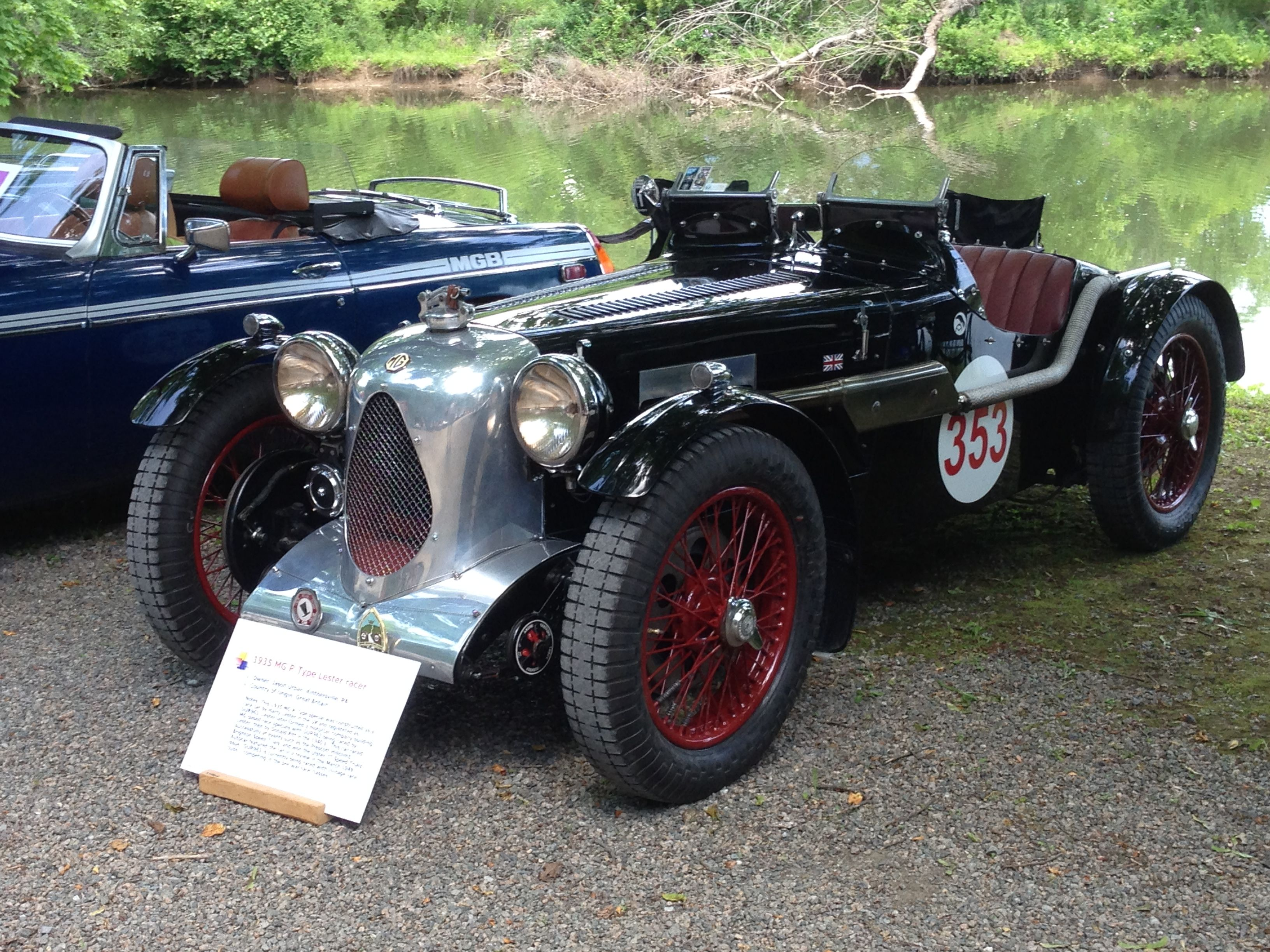 1935 MG P-Type Lester Racer Very rare MG race car | Classic Cars ...