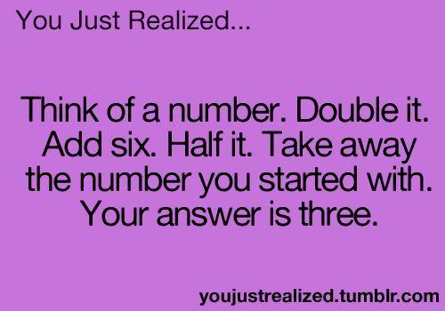 Math jokes...this blew my mind... - #WORKLAD