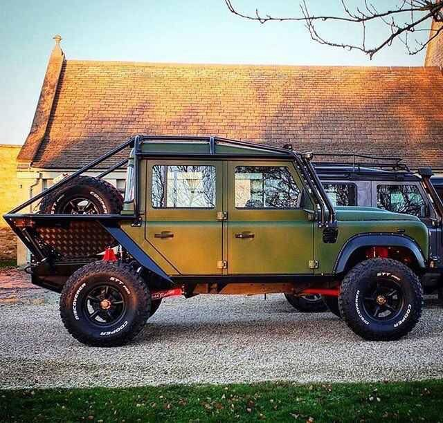 Very cool double cab