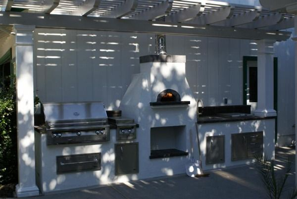 Napa Valley Deluxe Model This Pizza Oven With Bbq Kitchen