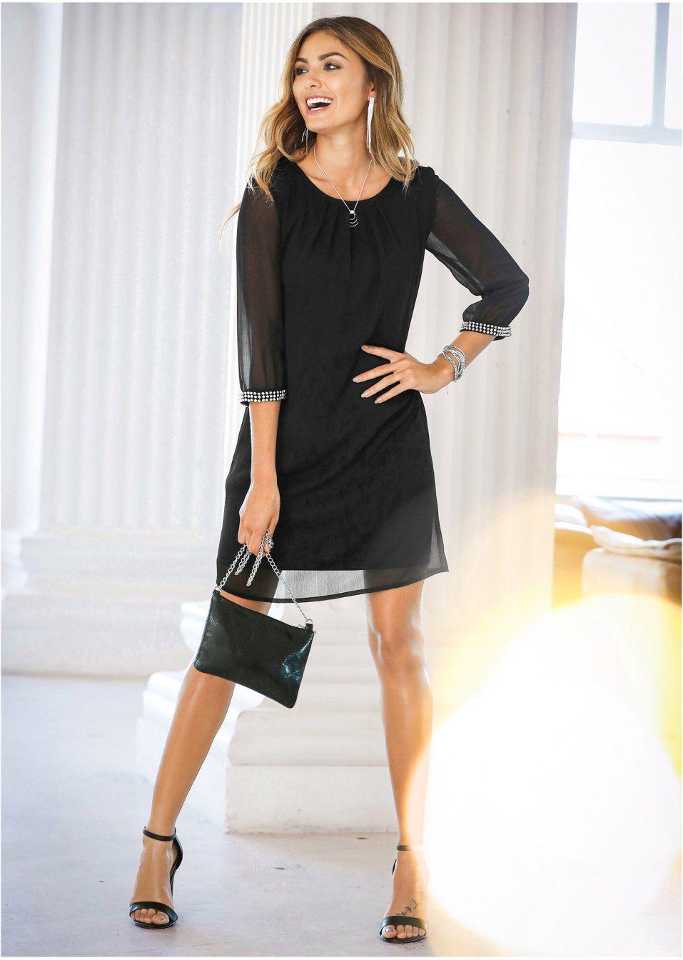 Chiffon-Kleid  Chiffon kleid, Modestil, Kleider