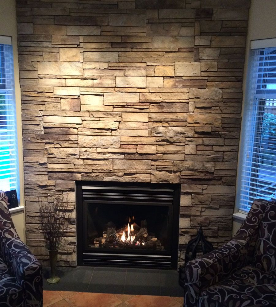 Fireplace Plum Creek Ledgestone Versetta Stone 174 Brand