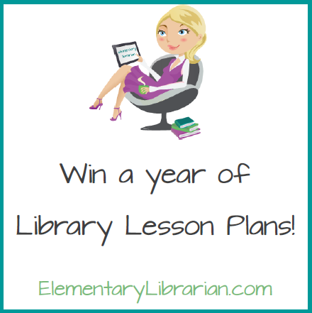 Win 2014-2015 library lesson plans from Elementary Librarian!