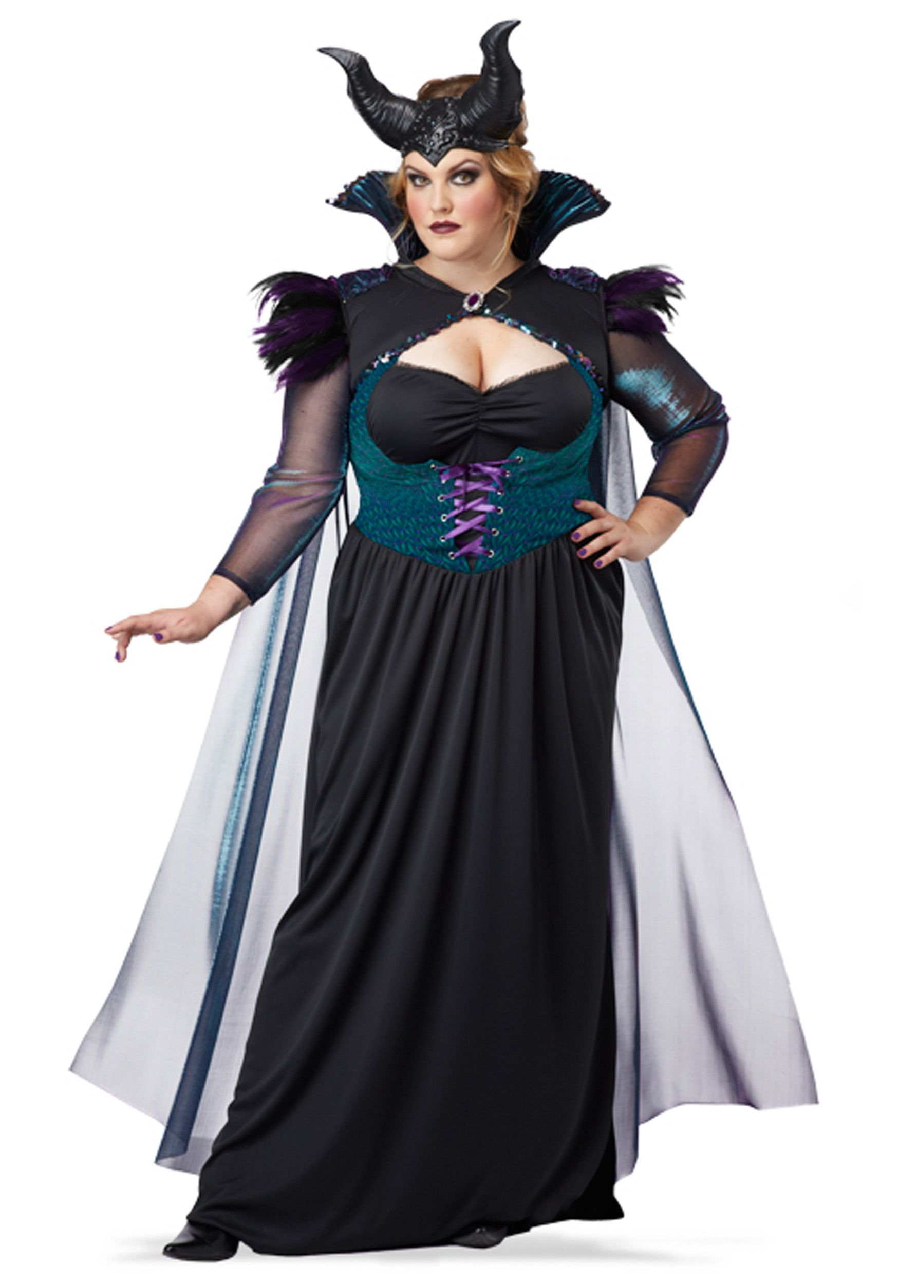 plus size storybook sorceress costume | halloween | pinterest