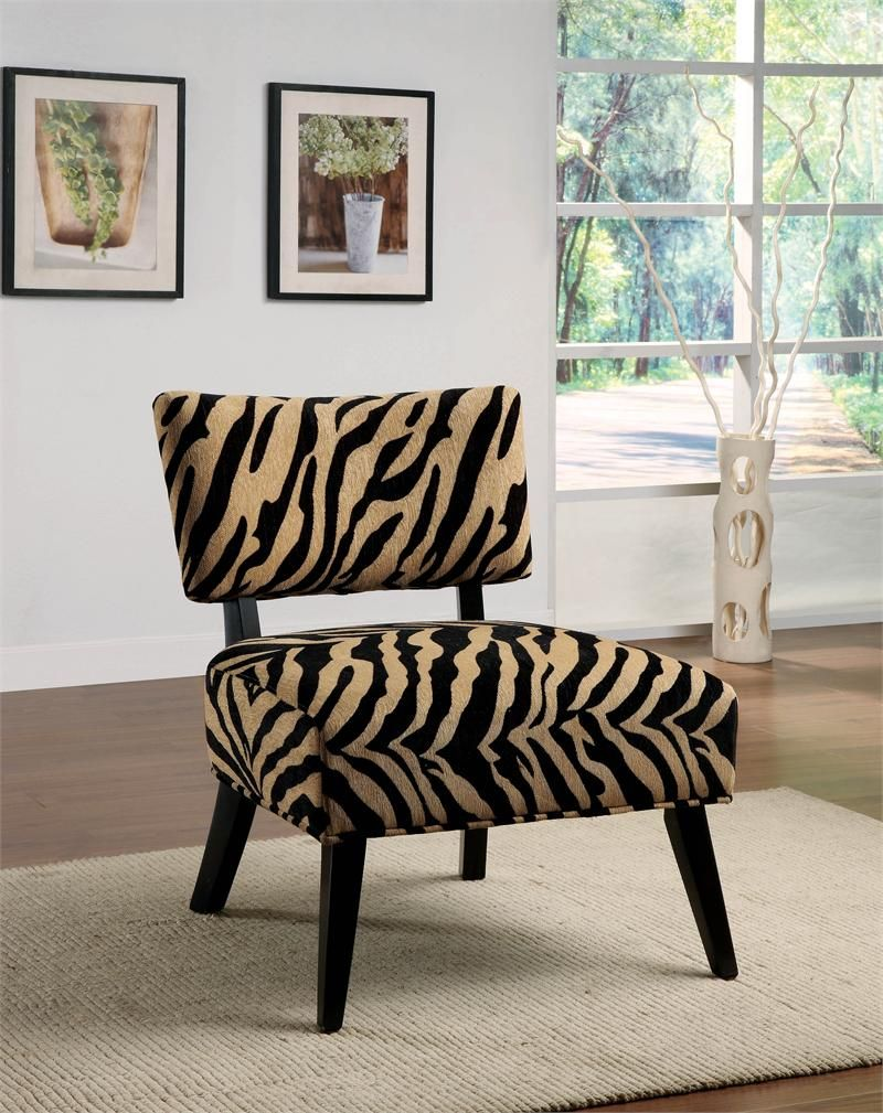 Glamorous Animal Print Accent Chairs Collection : Modern Zebra Print Accent  Animal Inspired Chair Inspiration With