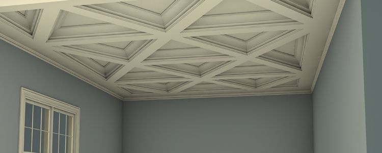 What Is A Coffered Ceiling In 2019 Bellaire Residence