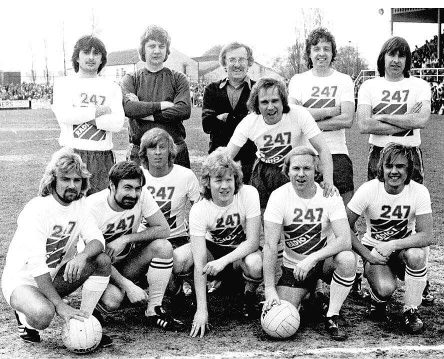 BBC Radio 1 football team, late 1970s Bbc radio 1