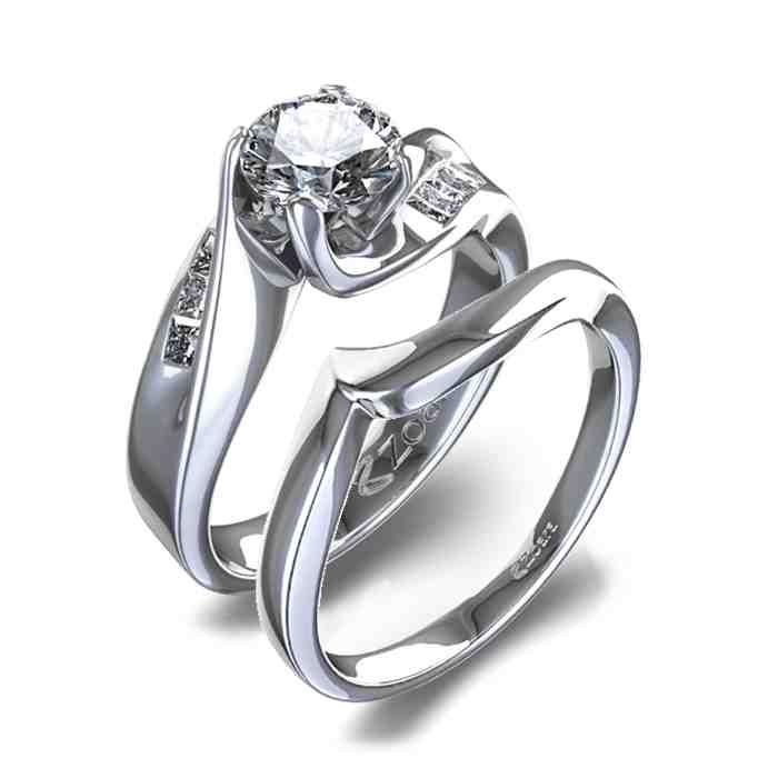 Wedding Ring Sets For Women Wedding Rings Sets Gold Diamond Wedding Sets Diamond Wedding Rings Women
