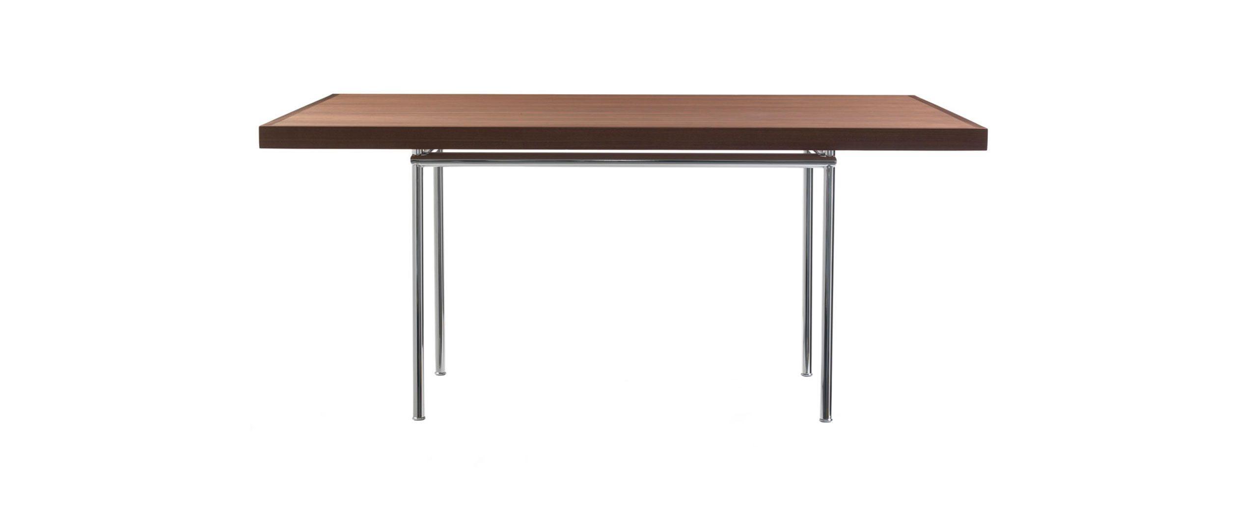 LC12 Tables Le Corbusier Pierre Jeanneret Cassina