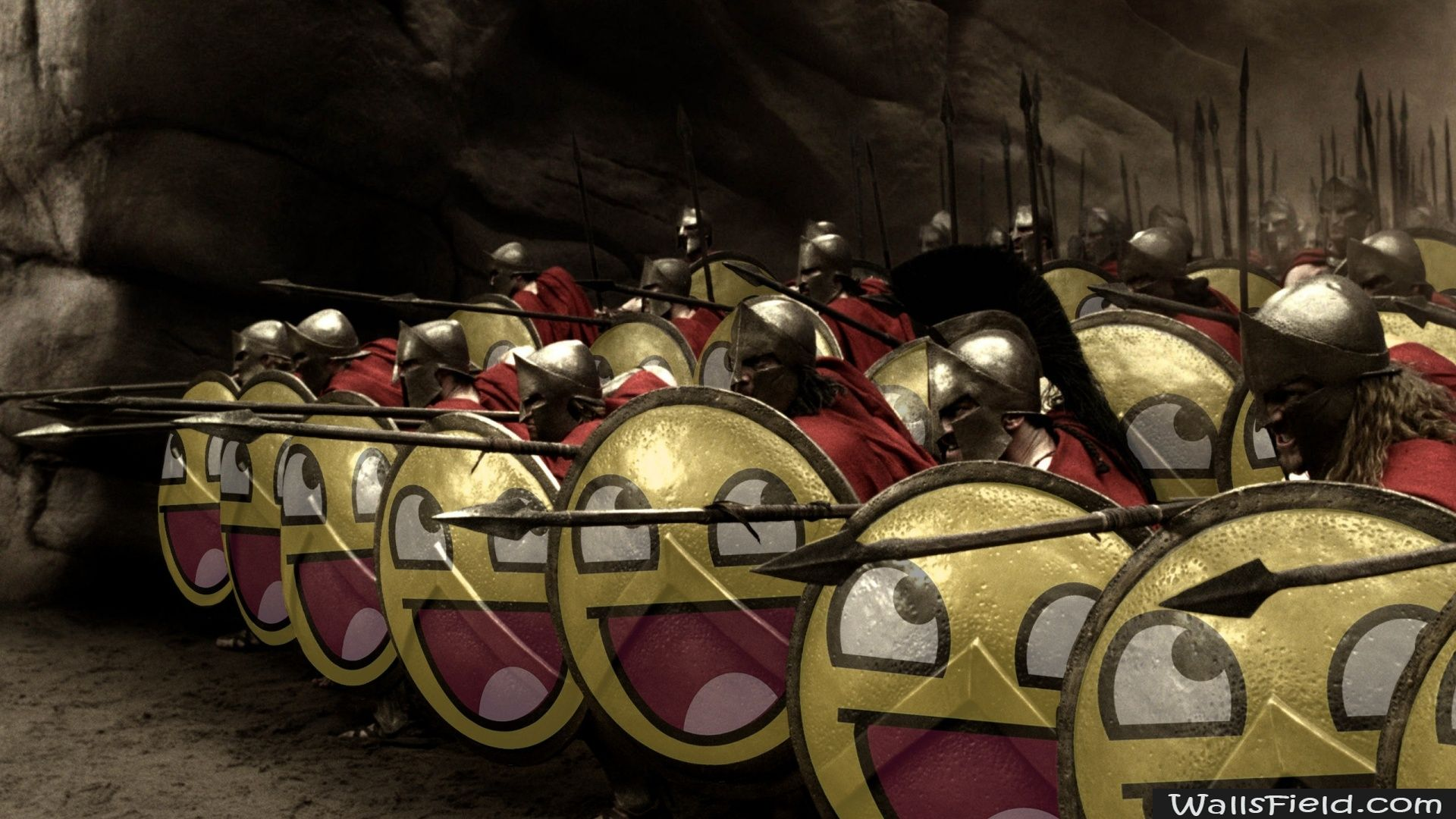 The 300 Spartans - http://wallsfield.com/the-300-spartans-hd-wallpapers/