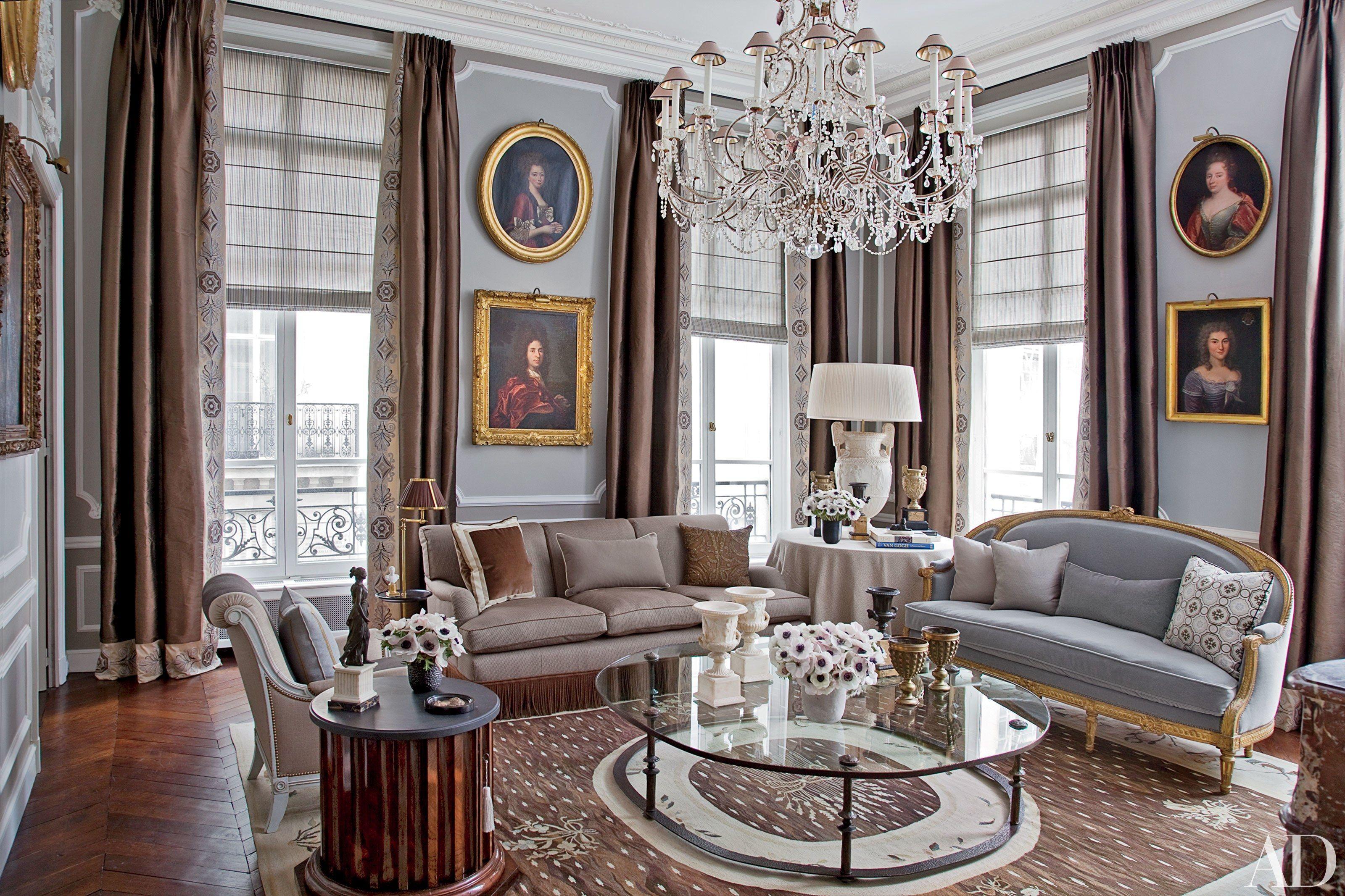 12 Unforgettable Living Spaces in Paris   Parisian apartment ...