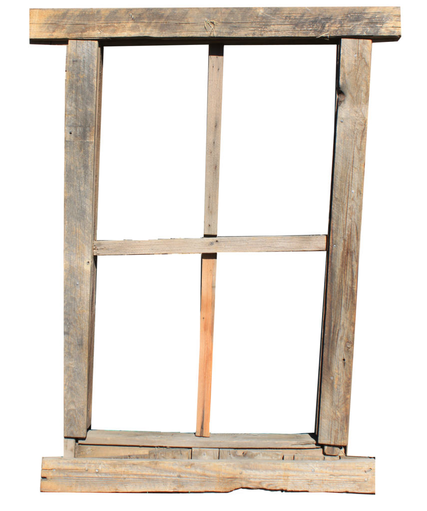 Transparent Rustic Window PNG Image To Use For Free
