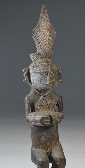 Nias people Ancestor figure [adu zatua] 19th century