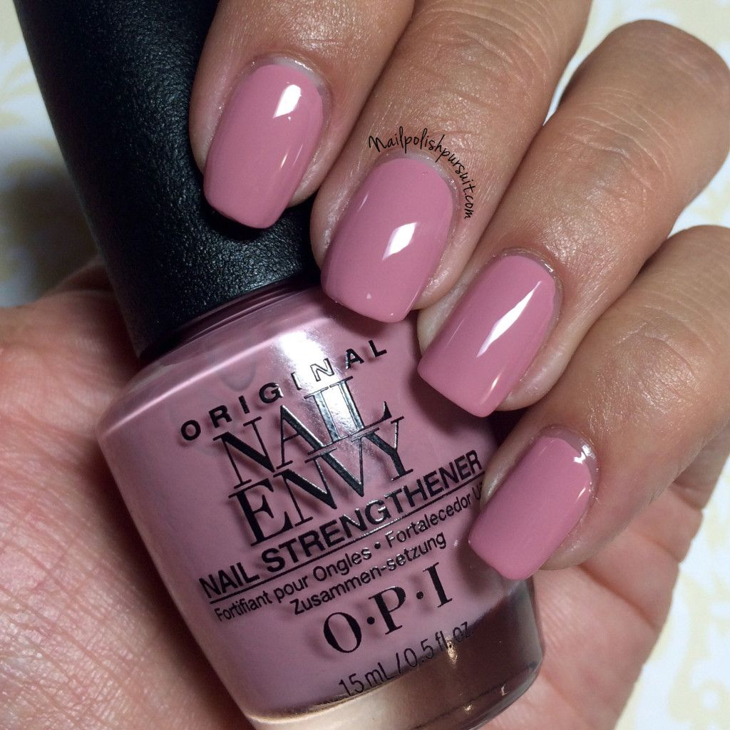 Hawaiian Orchid by OPI from the Nail Envy Strength in Color ...