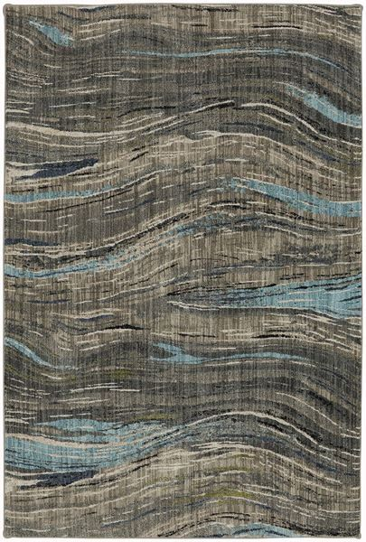 Amos Lagoon Waves 8x11 Rug Rugs