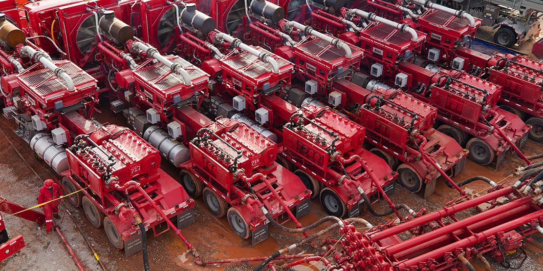 Halliburton Frac Truck | fracing | Oil service, Oilfield