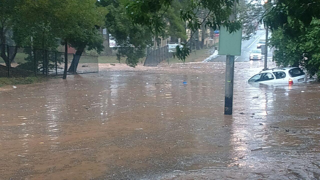 JHB 9 Nov 2016 Flood, New africa, South africa