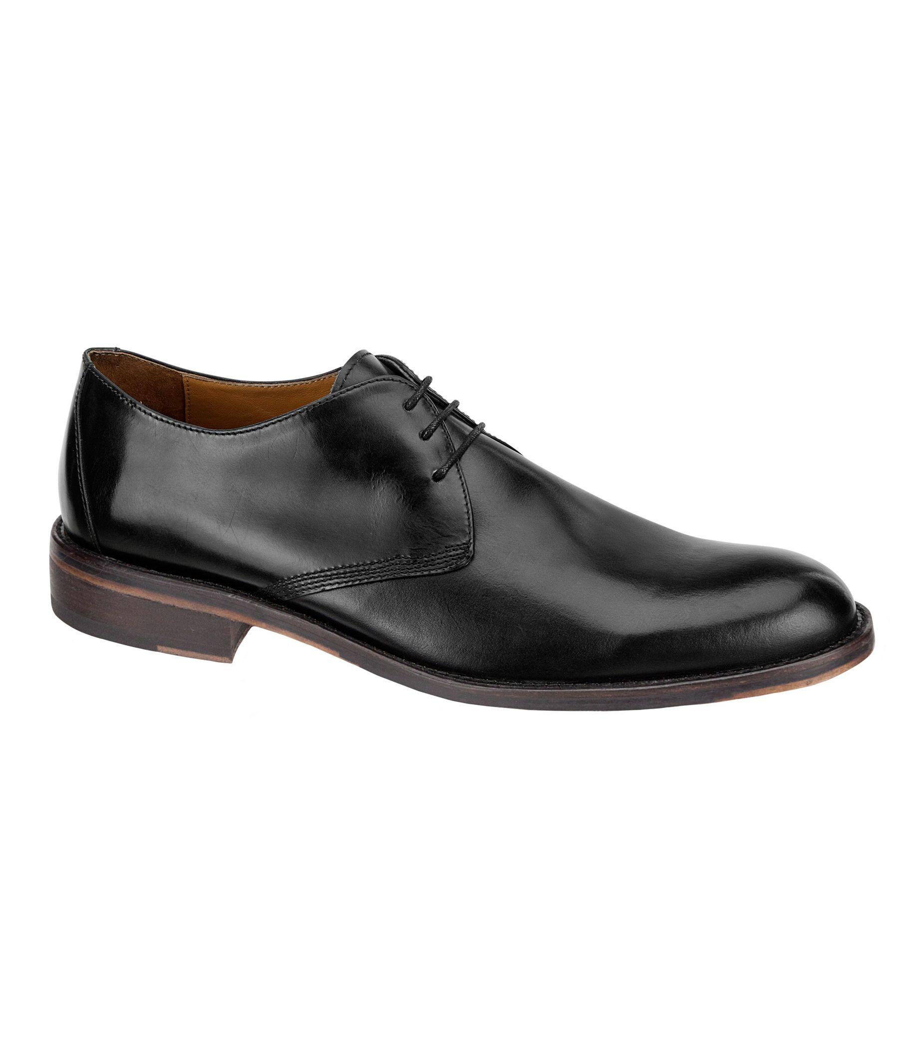 Hartley Plain Toe Shoe by Johnston & Murphy