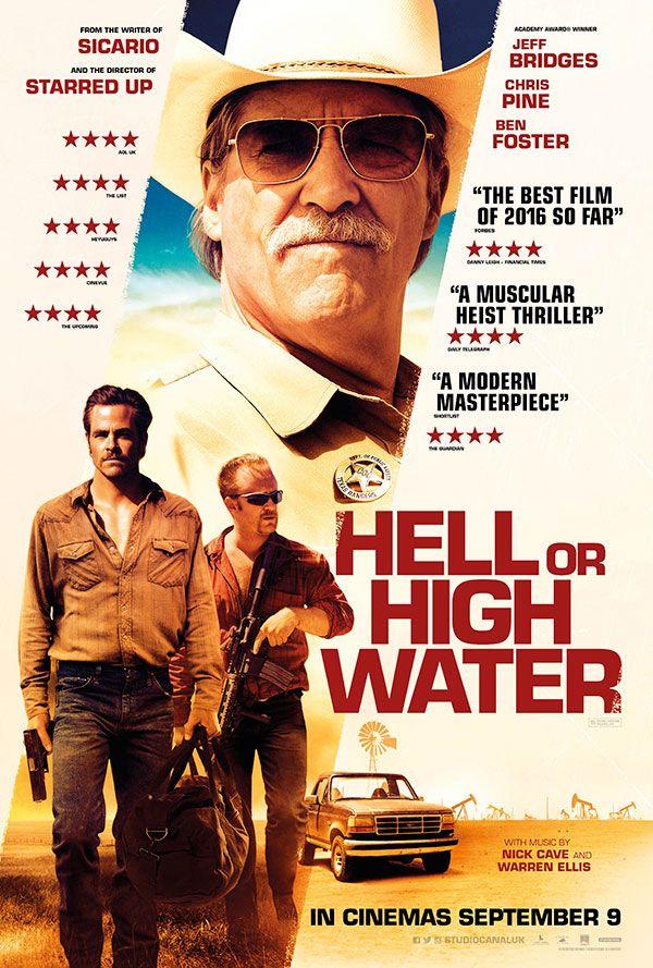 Resultado de imagem para movie poster hell or high water