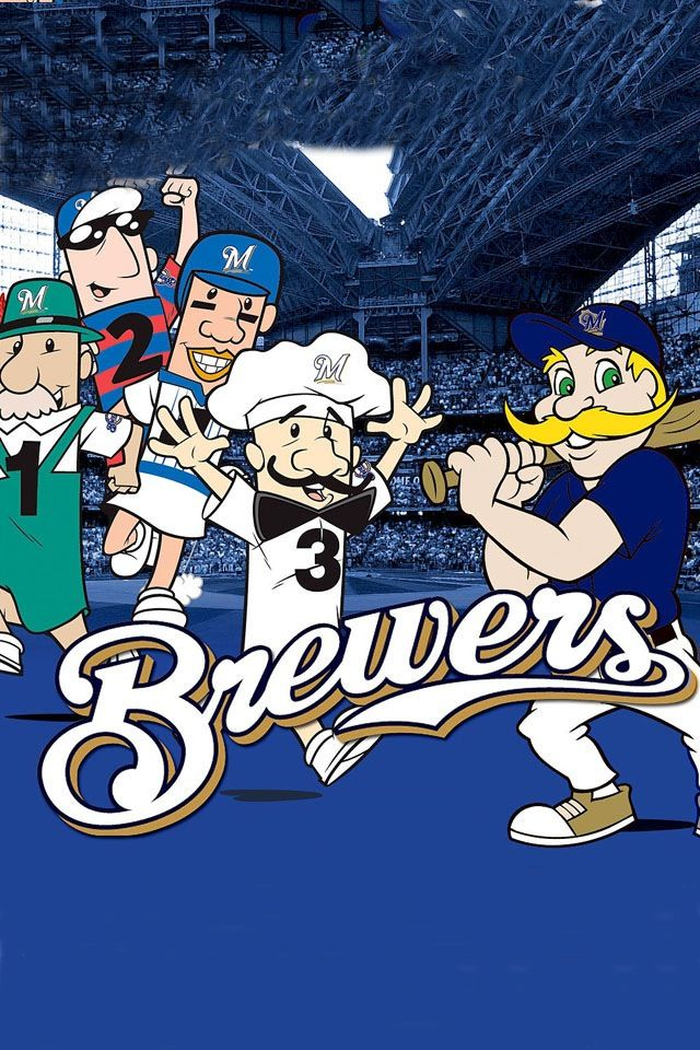 Milwaukee Brewers Bedroom In A Box Major League Baseball: Racing Sausages With Bernie Brewer, Mascot Of The