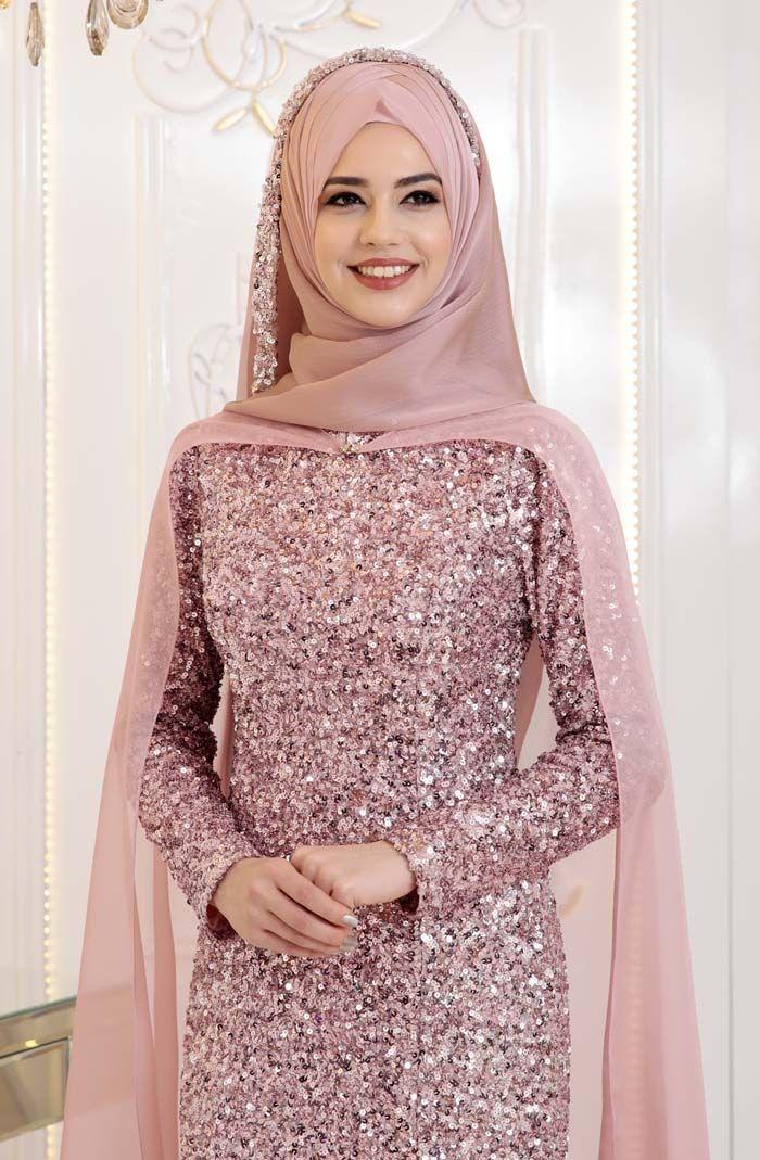 Pinar Sems Gunyeni Abiye Pudra Elbise Elbise Modelleri Elbise Dugun